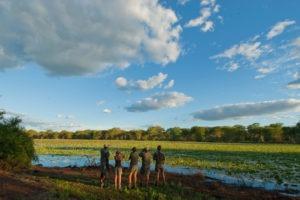 Ecotraining makuleke walking students