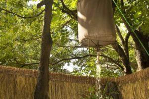 island bush camp bucket shower