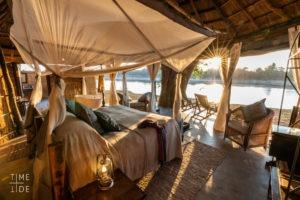 mchenja camp bedroom view
