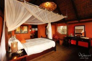 nxamaseri island lodge bedroom