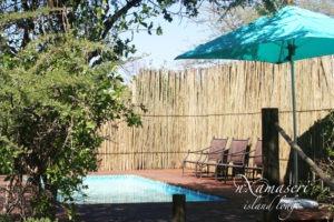 nxamaseri island lodge pool