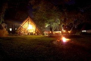pioneer camp lusaka fireplace