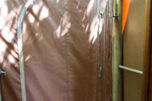 sango safari camp khwai outdoor shower