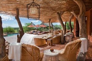 tswalu kalahari lounge deck