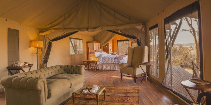 verneys camp hwange lounge tent
