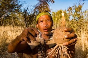 Botswana Bushmen Locals