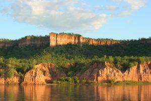 Chilojo Cliffs reflection gonarezhou bushcamp