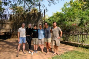 Safari with Gesa and Frank Group Pic