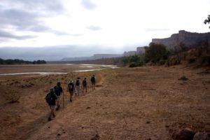 Gonarezhou bushcamps fly camp walking safari