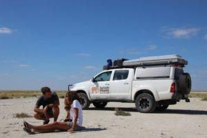Makgadikgadi Pans Nata Self Drive Camping Frank Gesa