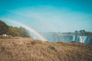 Victoria Falls Rainbow