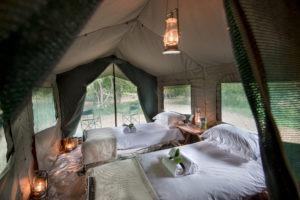 Pafuri Makuleke Kruger National Park Camping Tent Interior