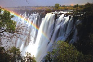 Zambia and zimbabwe victoria falls world wonder