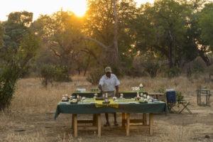 camp chitake mana pools breakfast