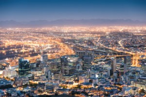 south africa johannesburg evening photo