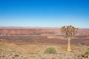 southern namibia fish river canyon views