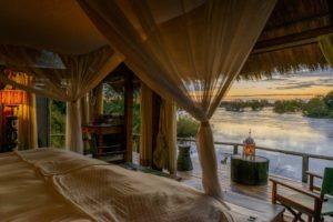 zambia livingstone sindabezi cottage