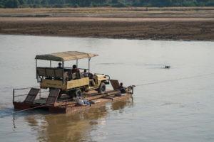 zambia luangwa valley gesa kafunta barge