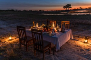 zimbabwe hwange camp hwange sunset dinner