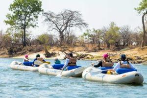 zimbabwe victoria falls canoeing