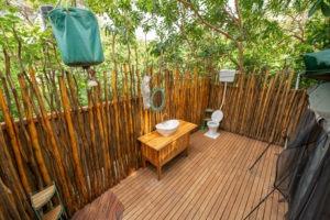 manyara green camp bathroom entire