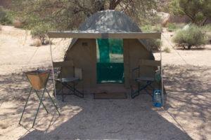 mobile camp dome ultimate safaris outside