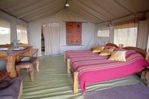 mysigio camp tanzania double interior