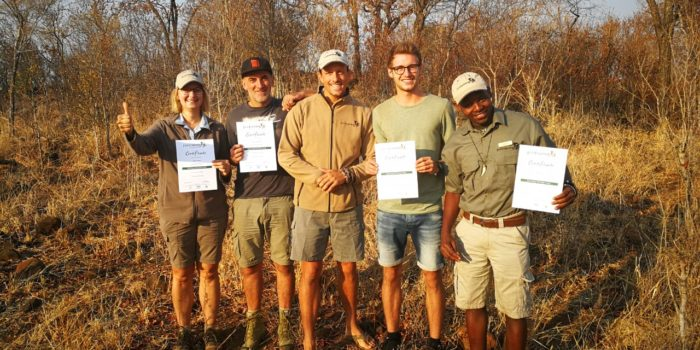 Zimbabwe FGASA training passed Ecotraining