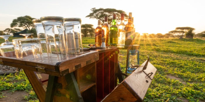 corfield camp tarangire sundowner
