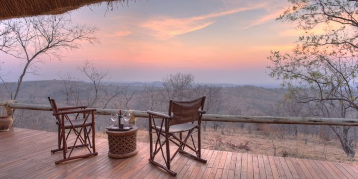 ikuka camp ruaha room view