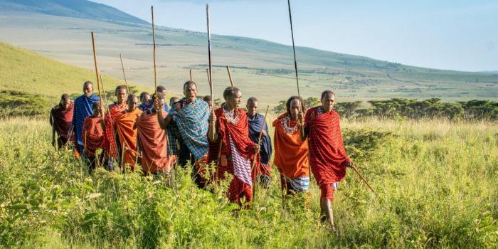 maasai mysigio ngorongoro landscape