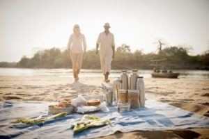 sand rivers selous picnic lunch