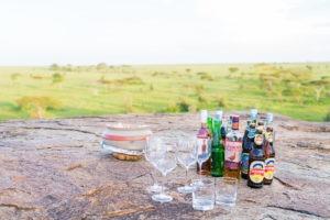 wayo walking camp serengeti sundowner drinks