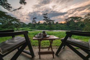 ishasha wilderness camp uganda sunrise