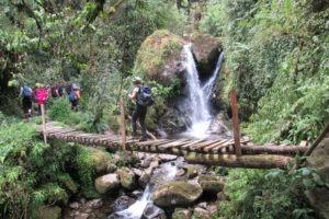 rwenzori trekking uganda enock falls 1