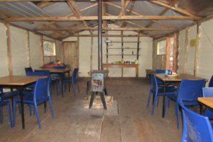 rwenzori trekking uganda inside cabin 1