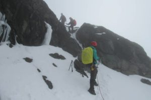 rwenzori trekking uganda ropes 1