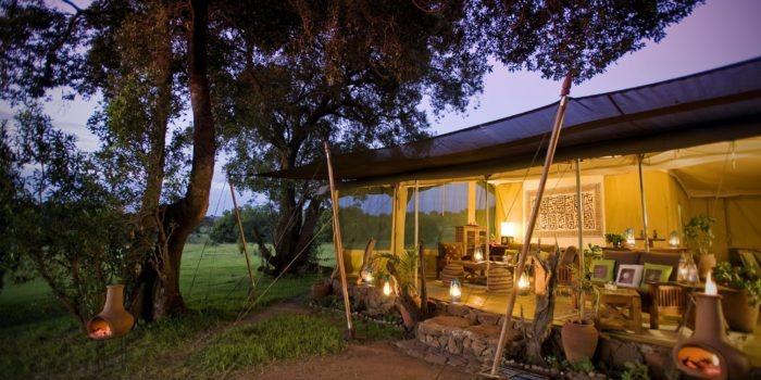 2. Kicheche Mara Dining tent 1