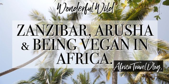 Zanzibar Arusha being vegan in Africa