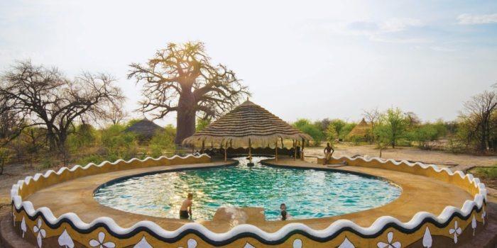 planet baobab botswana pool