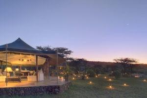 Dining tent exterior 3