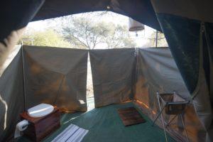 Okavango Expeditions Bathroom en suite 2