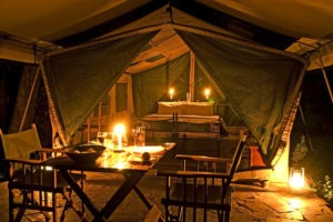 1 Tent Private Dinner Veranda