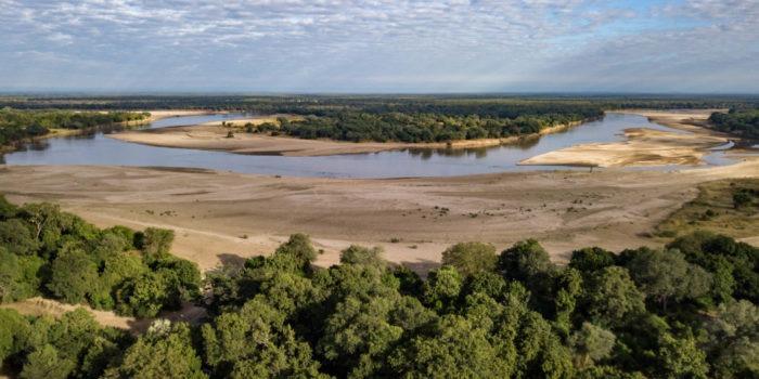 Kasikizi Camp Aerial View