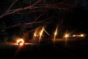 Borana Camp at night 2