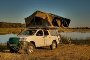 Botswana self drive safari vehicle