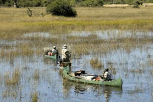 Botswana selinda spillway canoe safari adventure