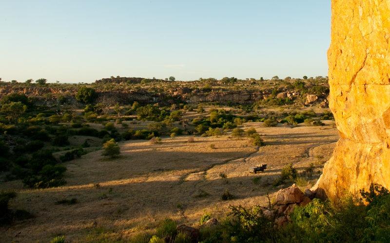 Ecotraining rocky landscape