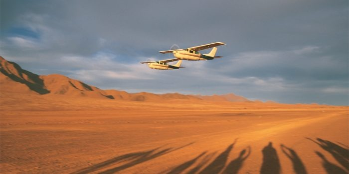 Namibia flying safari wolwedans
