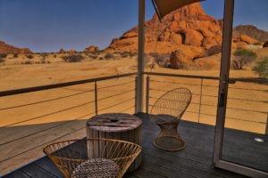 Spitzkoppen Lodge Deck